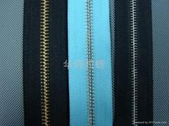 NO.5 metal long chain zipper