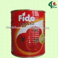4500g brix 28-30% tomato paste
