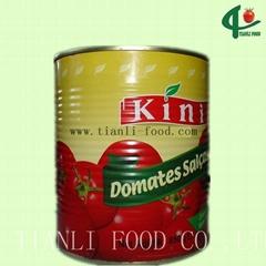 850g tomato paste in tins