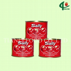 70g*50tins canned tomato paste 28-30