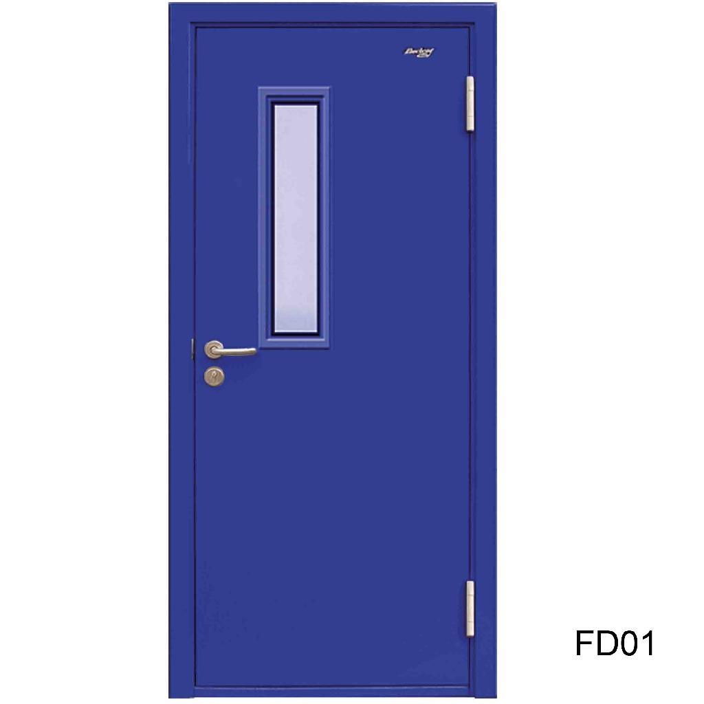 Ul Listed Fire Doors Fd02 Zhucheng China Manufacturer