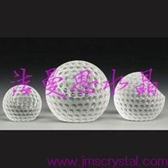 水晶高爾夫球
