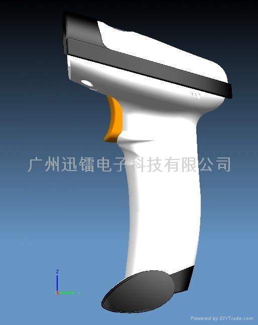 NT-2011激光條碼掃描槍平台 1