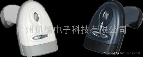 黑龍江二維無線激光條碼閱讀器掃描槍 1