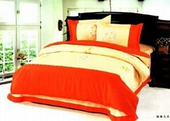 Embroider Bedding Set