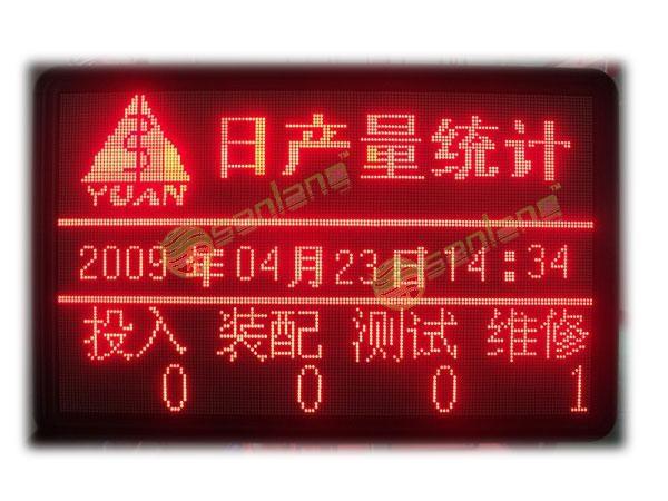 江西生產LED電子看板 1