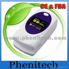 Portable fingertip oximeter 60B(CE FDA)