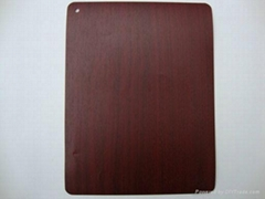 wood grain PVC film