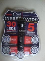 30LED多功能電筒教鞭電筒 鐳射電筒 綠光手電筒