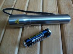 不鏽鋼電筒 防水手電筒 強光手電筒 LED手電筒