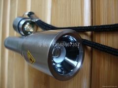 不鏽鋼手電筒 變焦手電筒 伸縮電筒一節5號電池電筒