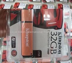 full capacity Kingston DataTraveler 150 1GB-32GB USB Flash Drives/free shipping