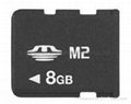 OEM M2 Memory Stick Micro 8GB,secure digital memory card 1