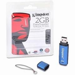 Kingston DataTraveler Vault flash drive /DataTraveler Vault - free shipping