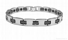 magnetic tungsten bracelet
