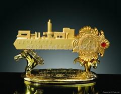 Golden Key crafts ornaments