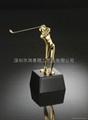 Golf crafts ornaments