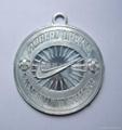 Zinc alloy die-casting campaign medals