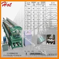 Ridge Roll Forming Machine