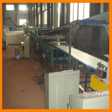EPS and rock wool Sandwich panel Production line 4