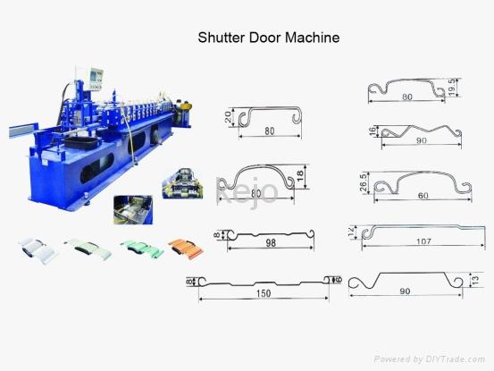 Shutter slat Door Roll Forming Machine 2
