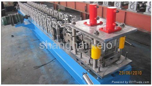 Shutter slat Door Roll Forming Machine 4