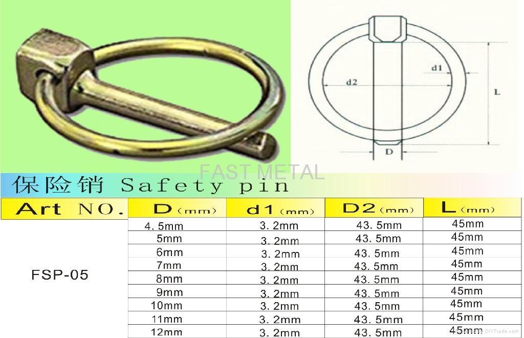Fsp 05 Lynch Pin Linch Pin Wire Lock Pins Lock Pin