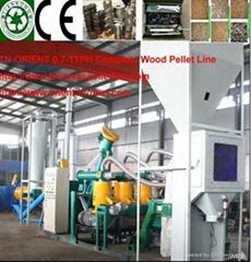 Complete Biomass Pelleting Plant