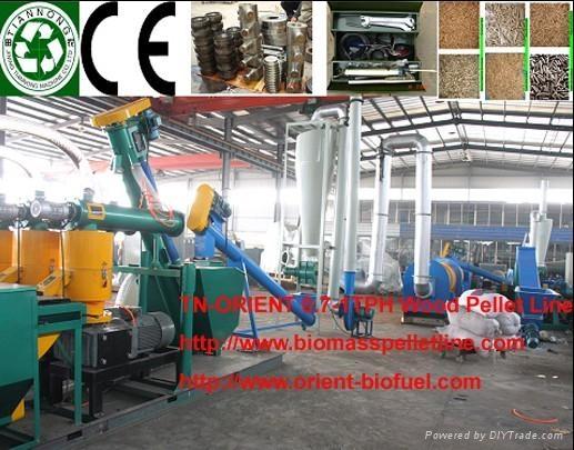 Complete Biomass Pelleting Plant 1
