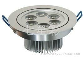 供應LED天花燈 光宏芯片 防水電源 3