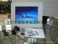 绿视界供应12寸高清数码相框 电子相册