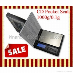 CD shaped Digital Pocket Scale