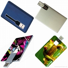 Hot sell credit card pen drive