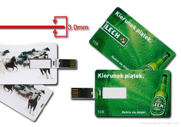 Hot sell credit card pen drive 5