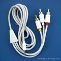 A/V cable for iPod 1