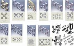 Aluminium profile, Aluminium profile accessories, Stainless steel make to order