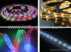 RGB LED strip,LED rope light,LED rigid strip,alluminum strip with led driver