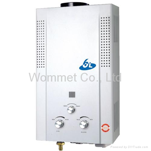 Flue( Chimney) type 6L Gas Water Heater 1