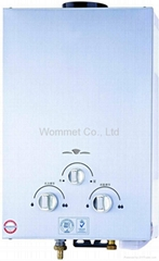 6L Flue type gas water heater