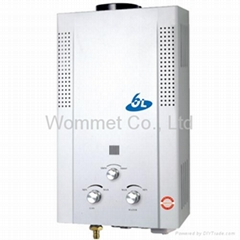 LPG/ NG Flue/ Force Exhaust gas water heater 10L-12L
