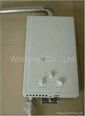 7L-8L-10L Force exhaust type LPG/NG water heater