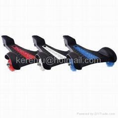 sole skate skateboard with 3-wheels