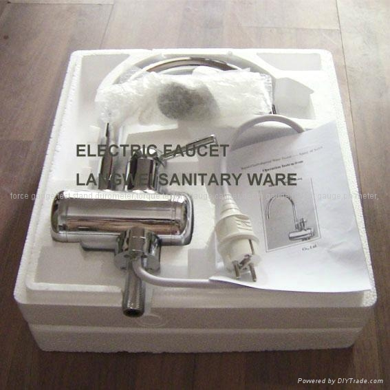 Lw8 1 fast electric heating faucet tap robinet chauffe for Robinet purge chauffe eau