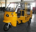 Moto Taxi Passenger Taxi Tricycle with Cabin