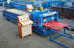 Metal deck step roof tile forming machine  XF28-207-828