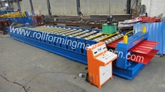 Double layer roof tile roll forming machine