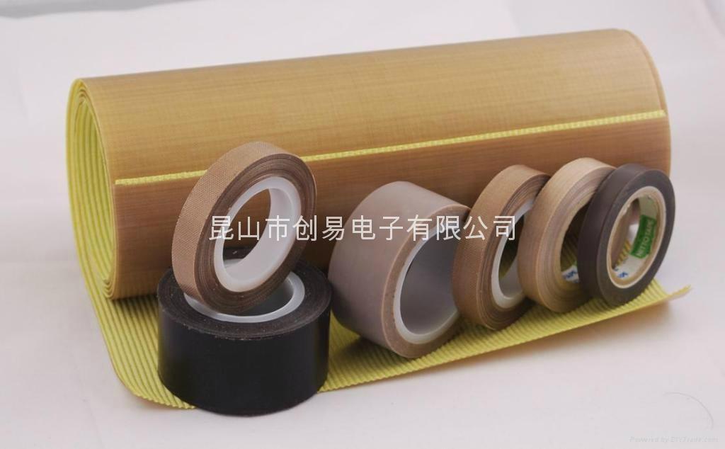 提供淮安-鐵氟龍玻璃纖維布膠帶 1