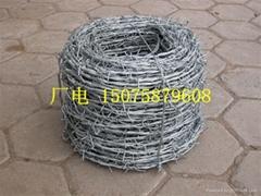 安平刺绳 刺丝 刺绳厂家 镀锌刺绳 带刺铁丝