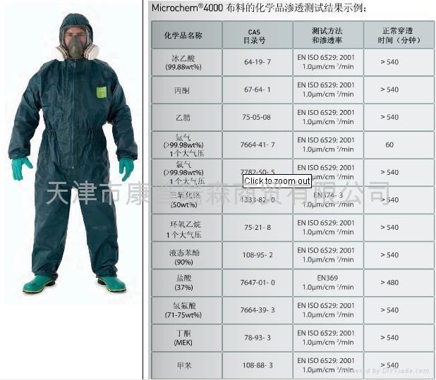 Microgard 4000防護服 1