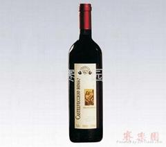 進口紅酒 CASTE  ECCHIO ROSSO(古堡紅)